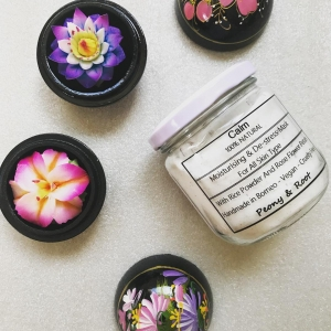 Peony & Root calm powdered face mask Malaysia